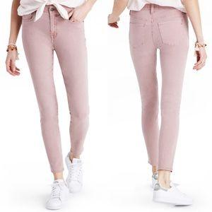 ✨ Madewell Dye High Waist Crop Skinny Jeans ✨